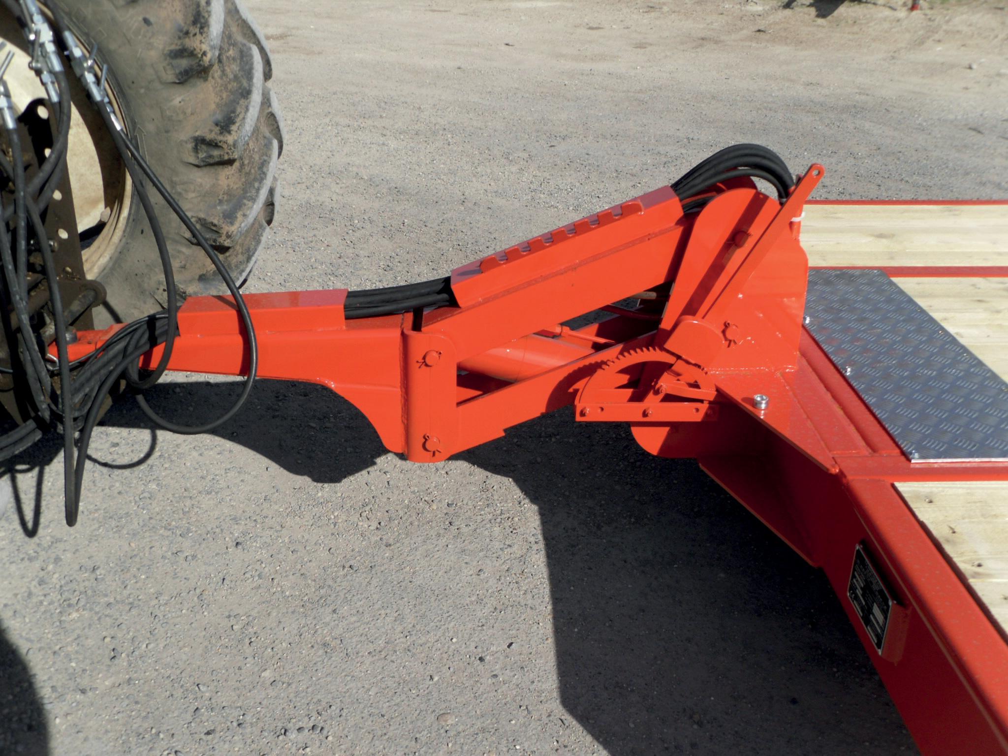 Essieu Arrière Royer PT65 - Flèche hydraulique