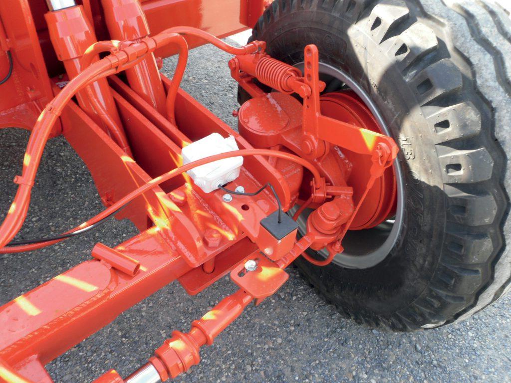 Capteur indicateur roue droite