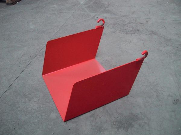 Trémie - Goulotte carrée LG300