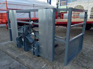 Porte palettes hydraulique, fourches mobiles / battants mobiles